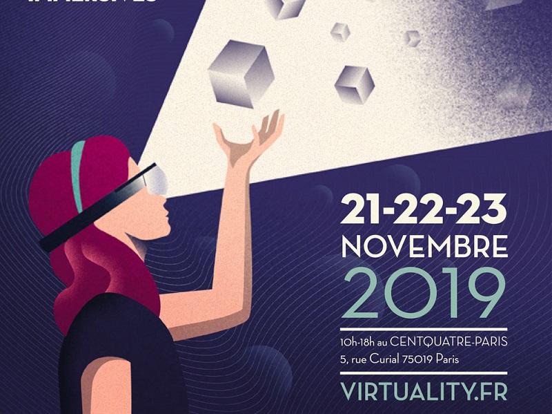 Graaly sera présent sur le salon Virtuality