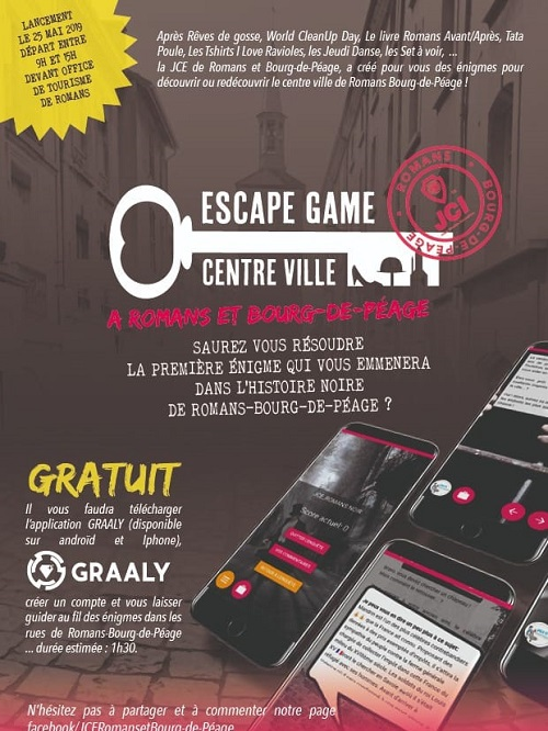 Escape game de Romans