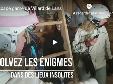 Vidéo du jeu de Villard de Lans