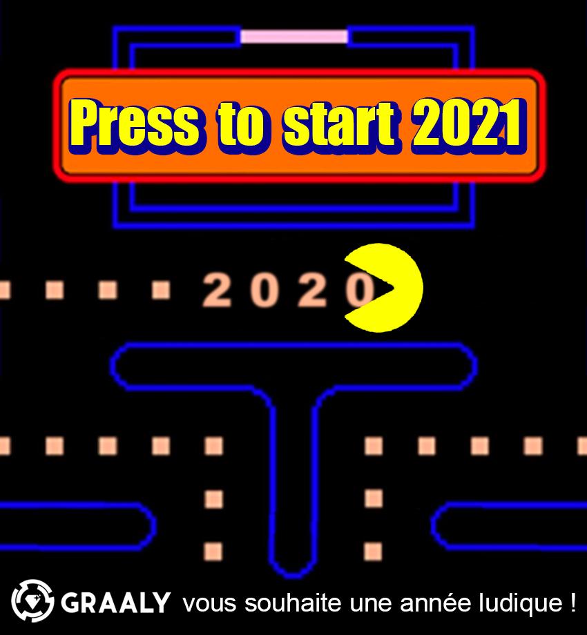Game over 2020 … Bonne année 2021 !